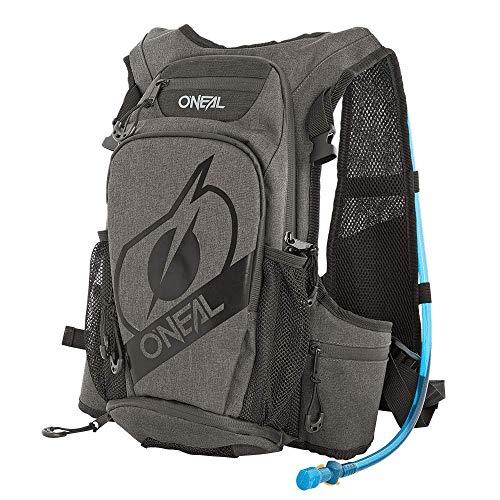 O'NEAL   Rucksack mit integriertem Trink-System   Fahrrad MTB Mountainbike   12L Fassungsvermögen, erhöhte gepolsterte Rückwand (abnehmbar)   ROMER Hydration Backpack   Schwarz   1,5+ Liter Trinkblase