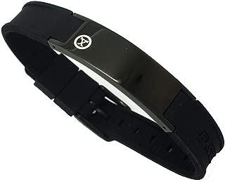Best Sports Golf Magnetic Bracelet Carbon Dark Black Gift Box