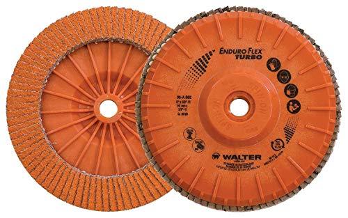 Walter 06A452 Enduro-Flex Turbo Abrasive Flap Disc [Pack of 10] - 36/60...