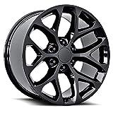 Topline Replicas V1182 Gloss Black Wheel (24 x 10. inches /6 x 5 inches, 27 mm Offset)