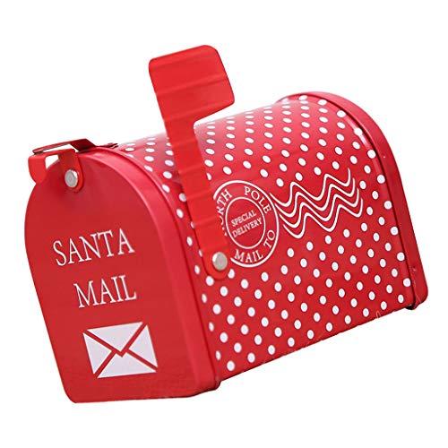 B Blesiya Weihnachten Briefkasten Postkasten Mailbox Letterbox Geschenkbox für Kinder - Typ 1