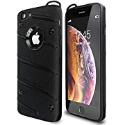 Military Grade 15ft. Drop Tested Protective Case with Kickstand,Shockproof,Dual Layer Heavy Duty