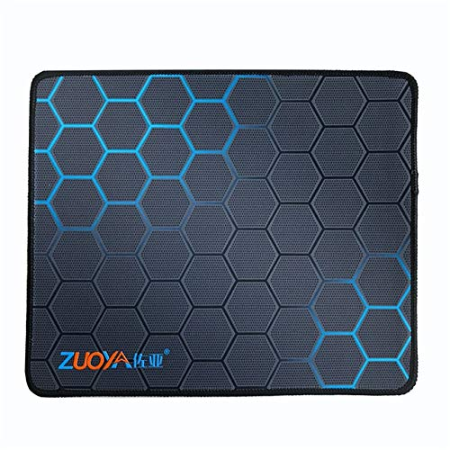 Yqs Mouse Mat Gaming Mouse Pad Anti-Slip Natural Rubber Computer Anime Mousepad Mat Speed Locking Edge for (Color : ZUOYA Mousepad) Delaware