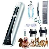 Supet - Tosatrice professionale per cani e gatti, silenziosa e elettrica...