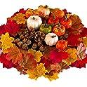 Goyishun 86-Pieces Halloween Artificial Pumpkins