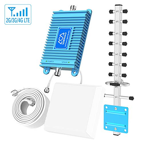 Cell Phone Signal Booster 4G LTE Cell Phone Booster Amplifier AT&T...