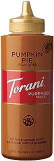 Torani Pumpkin Pie Flavored Sauce 16.5 ounce
