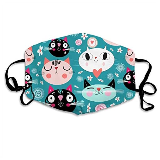Anime Mundschutz Maske Kawaii Katzen Mundschutzmaske