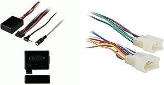 Metra Axxess ASWC-1 Universal Steering Wheel Control Interface & 70-1761 Radio Wiring Harness For Toyota 87-Up Power 4 Speaker