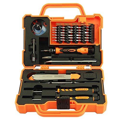 Jakemy 43-in-1 precisieschroevendraaier gereedschapsset voor kleine elektronica zoals mobiele telefoons, camera enz.