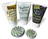 Tattoo Goo Aftercare Kit Includes Soap, New formula, Tattoo Goo, Lotion, Renew Lotion