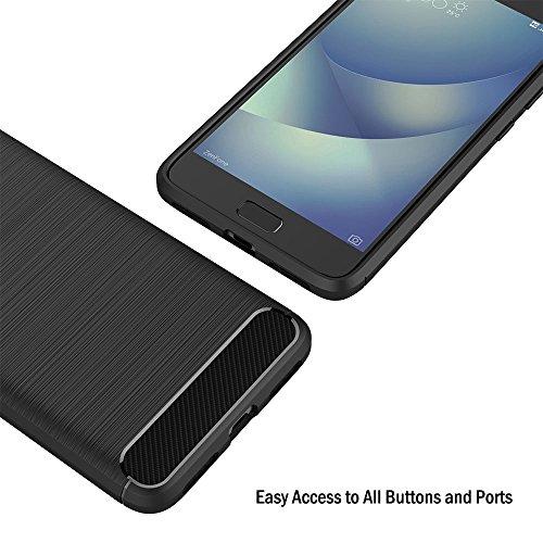 AICEK Cover ASUS Zenfone 4 Max ZC520KL, Nero