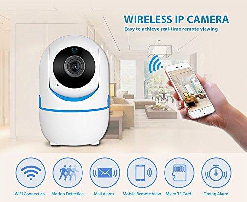 KERUI 720P 1080P portátil pequeño mini interior Full HD inalámbrico de seguridad de hogar wifi cámara de vigilancia IP cámara Night Vision CCTV cámara 720P