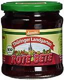 Thüringer Landgarten Rote Bete im Glas, demeter, 6er Pack (6 x 370 ml) - Bio