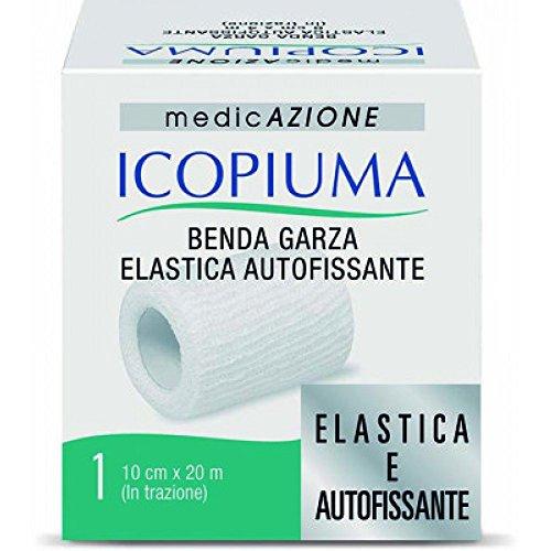 Icopiuma Benda Garza Elastica Autofissante, 10 cm x 20 M