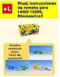 PlusL instrucciones de remake para LEGO 10696,Dinosaurios 1: Usted puede construir Dinosaurios 1 de sus propios ladrillos