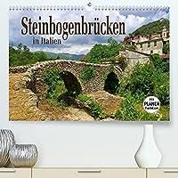Steinbogenbruecken in Italien (Premium, hochwertiger DIN A2 Wandkalender 2022, Kunstdruck in Hochglanz): Roemische Bauwerke und mittelalterliche Kleinode (Geburtstagskalender, 14 Seiten )