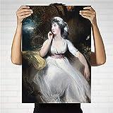 wZUN Decoración para el hogar impresión en Lienzo Arte Cuadro de la Pared póster Lienzo impresión Pintura 50x70 Sin Marco