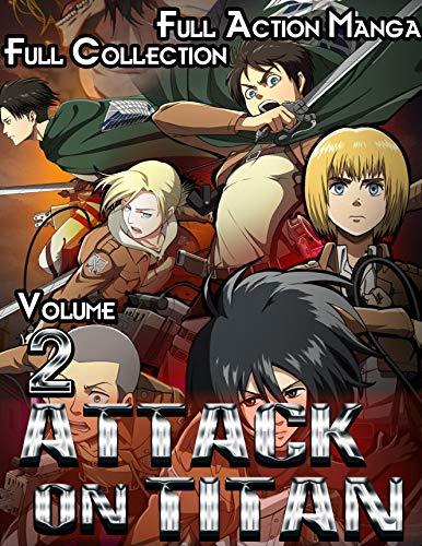 Full Action Manga Attack on Titan Full Collection: Full series Attack on Titan Volume 2 (English Edition)