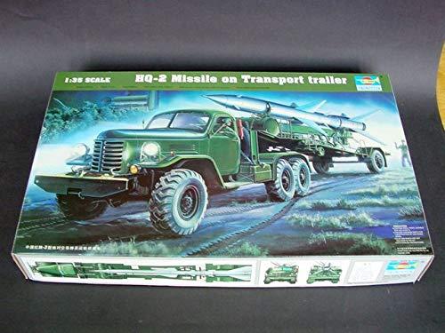 Trumpeter 00205 modèle Kit 2 Guide Line Missile W/HQ Loading Cabin
