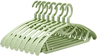 TXC- Hanger Without tracehangers Hangers Home Hangers Non-Slip Clothing Support Children's Plastic Clothes Support 20 Sets...
