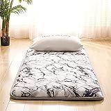 Nuiik-C22x Materasso da Pavimento Tradizionale in Tatami, Materasso futon Giapponese, 5 cm per Ragazzi e Ragazze, materassino Pieghevole per Adulti in...