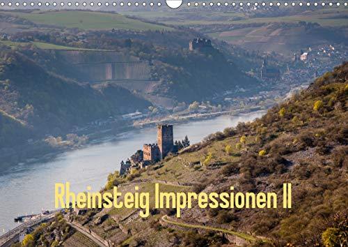 Rheinsteig Impressionen II (Wandkalender 2021 DIN A3 quer)