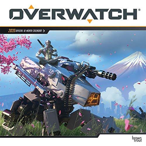Browntrout Publishers, I: Overwatch 2020 Square Wall Calenda