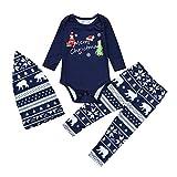 Pijamas Mujer Camisón Navidad Copo De Nieve Estampado Familia A Juego Madre Padre Hija Hijo Conjunto De Pijamas Ropa De Dormir para Niños Ropa De Dos Piezas Tops Pantalones 10M Multi