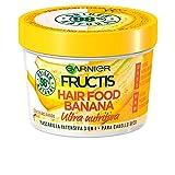 Garnier Fructis Hair Food Acondicionador Nutritivo de Banana para Pelo Seco - Pack de 3 x 350 ml...