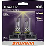 SYLVANIA - 9006 XtraVision - High Performance Halogen Headlight Bulb, High Beam, Low Beam and Fog Replacement Bulb (Contains 2 Bulbs)