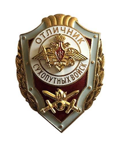 Ganwear® Russisches BrustMetalllabzeichen - Ausgezeichneter Service bei Bodentruppen