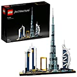 LEGO Architecture - Dubái, Maqueta para Montar el Skyline de la Ciudad y sus Rascacielos, Set de Construcción Coleccionable, Recomendado a Partir de 16 Años (21052)