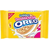 Oreo Golden Double Stuf Sandwich Cookie, 15.25 oz
