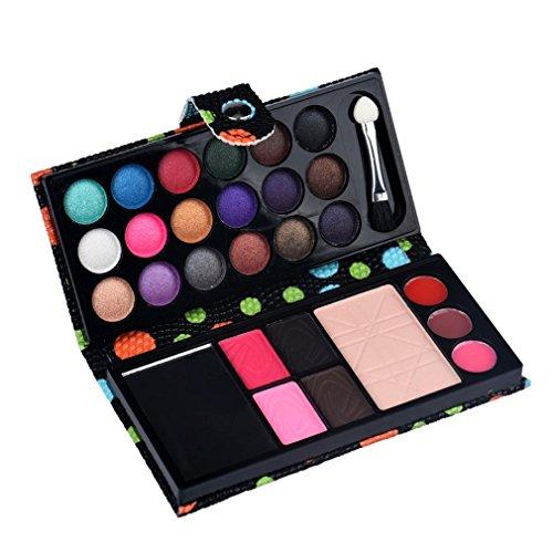 26colori ombretto, Tefamore makeup palette cosmetico ombretti blush lucidalabbra cipria