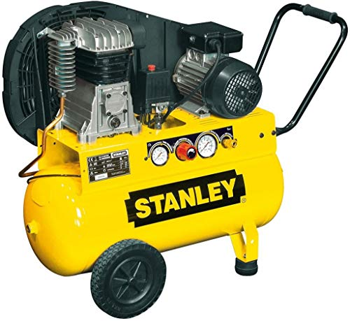 Stanley Kompressor mit Keilriemen – 2 PS / 50 l / 10 bar