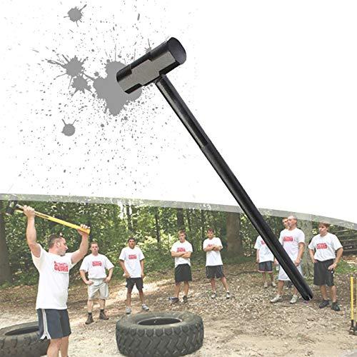 ZhiLianZhao Martillo de Entrenamiento, Profesional Physical Fitness Training, Desarrollar Perfectamente Los Músculos, Las Articulaciones y La Fuerza Central,5kg