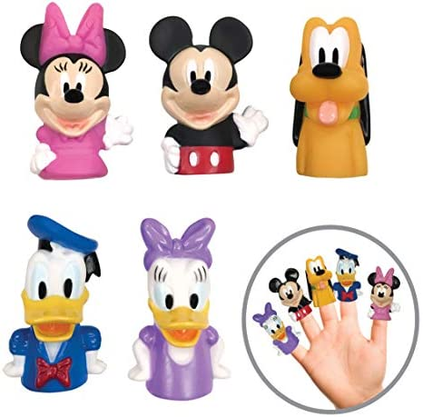 Disney Mickey Mouse Friends Finger Puppets Party Favors Educational Bath Toys product image