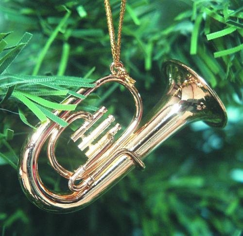 Music Treasures Co. Baritone Horn Christmas Ornament