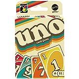 Mattel Games'- UNO Versione Iconica 1970, Gioco di Carte con Design a Tema Anni '70, da Collezione, Giocattolo per Bambini 7+ Anni, GXV43