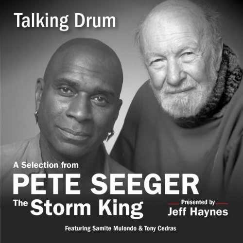 Talking Drum audiobook cover art