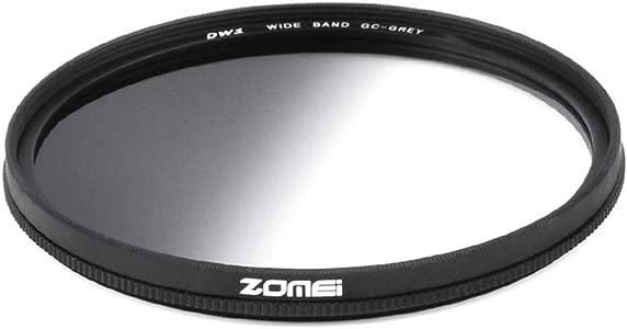 ZOMEI Super Slim 67mm Resin Circular Graduated Neutral Density Gray GN...