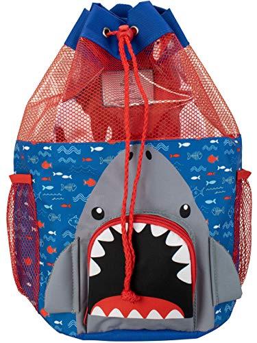 Harry Bear Bolsa de Natación para niños Tiburón Azul