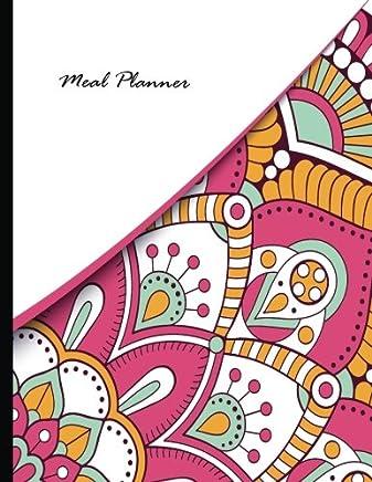 Meal Planner / Food Planner - Weekly Menu Planner With Grocery List - Mandala: 10