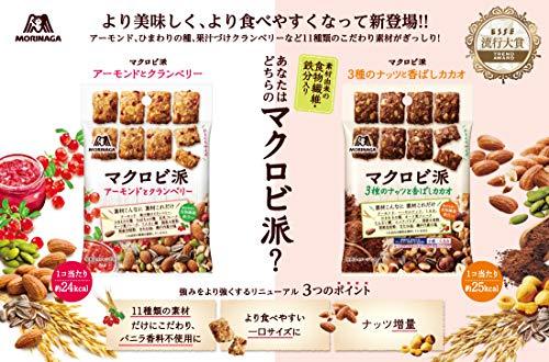 森永製菓『マクロビ派アーモンドとクランベリースタンドパウチ』