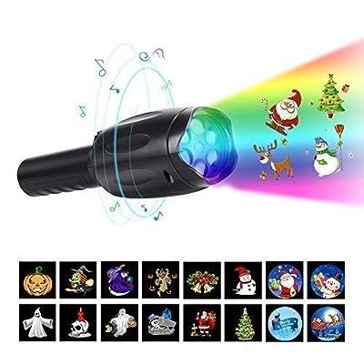 Openuye Halloween Christmas Projector Lights