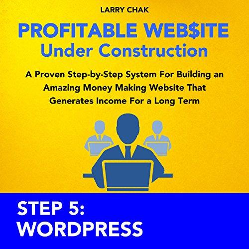 Profitable Website Under Construction - Step 5: Wordpress audiobook cover art