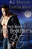 His Brother s Beta Pack Rules Book 1  English Edition