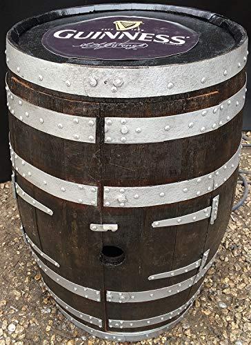 Cheeky Chicks - Estante para vino (roble macizo, irlandés Guinness, barril)