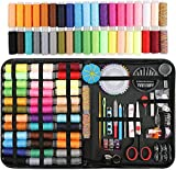 Sewing Kit,Premium Sewing Supplies, Oxford Fabric Sewing kit for Beginner,Kids, Adults, Travel, Thread and Needle, Sewing Accessories, Organizer Sewing Box, Emergency kit, DIY and Home(Rainbow).